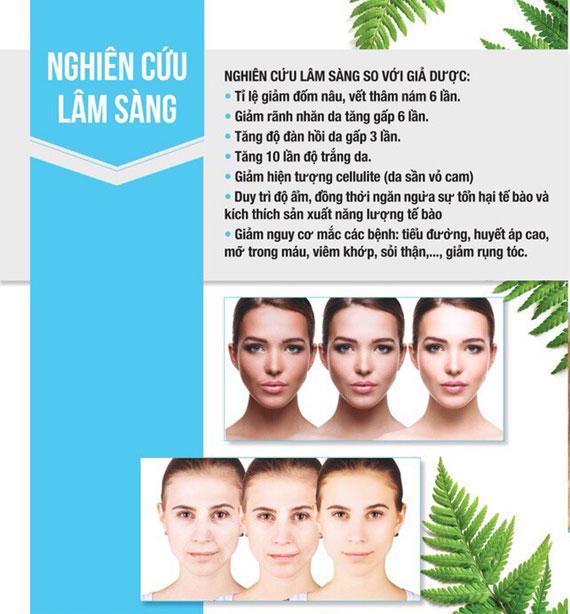 Thuốc uống trắng da của Mỹ Beauty Skin Plus