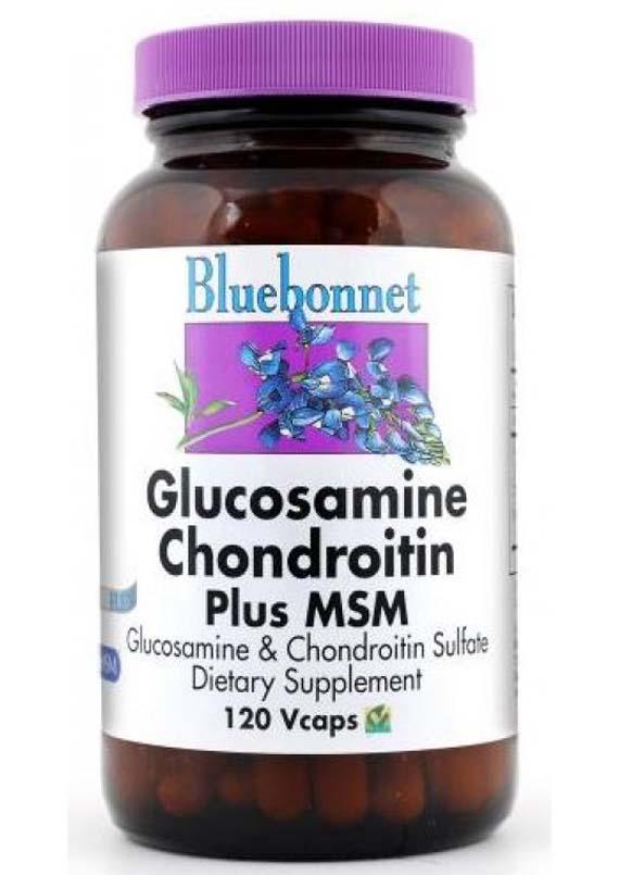 Bluebonnet Glucosamine Chondroitin Plus MSM