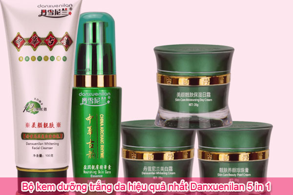 Bộ kem dưỡng trắng da hiệu quả nhất Danxuenilan 5 in 1