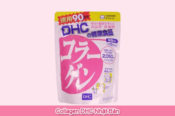collagen DHC Nhật Bản