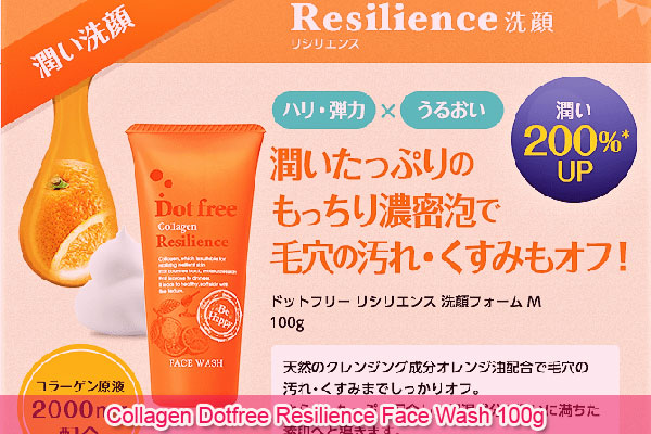 Sữa rửa mặt Collagen Dotfree Resilience