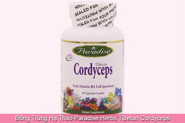 Đông Trùng Hạ Thảo Paradise Herbs Tibetan Cordyceps