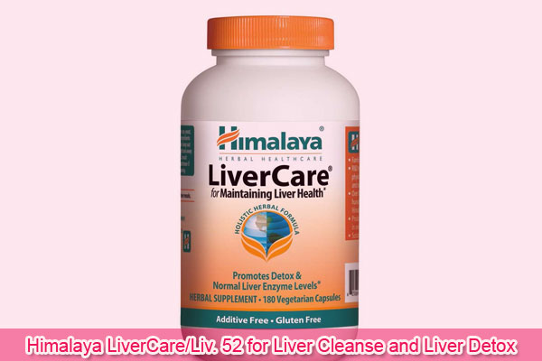 Himalaya LiverCare/Liv. 52 for Liver Cleanse and Liver Detox 375 mg