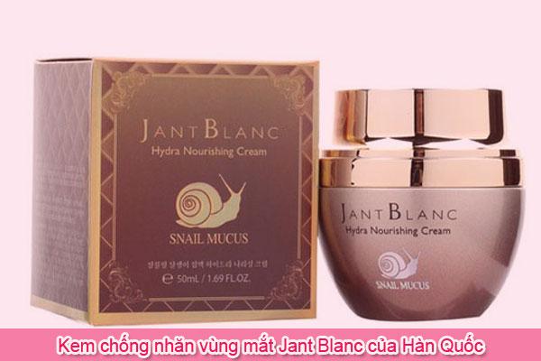 Kem chống nhăn vùng mắt Jant Blanc của Hàn Quốc