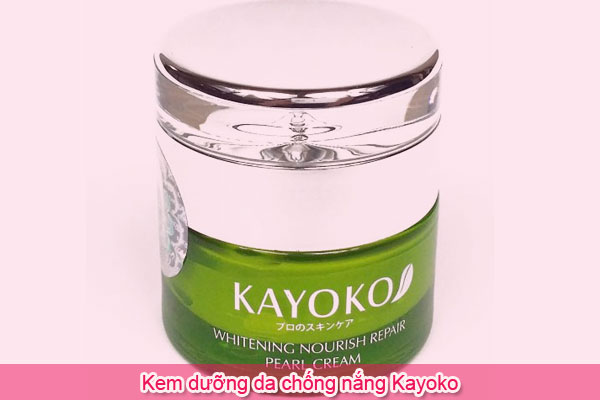 Kem dưỡng da chống nắng Kayoko