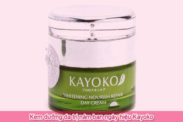 Kem dưỡng da trị nám ban ngày hiệu Kayoko