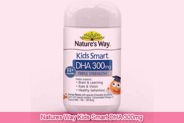 Natures Way Kids Smart DHA 300mg