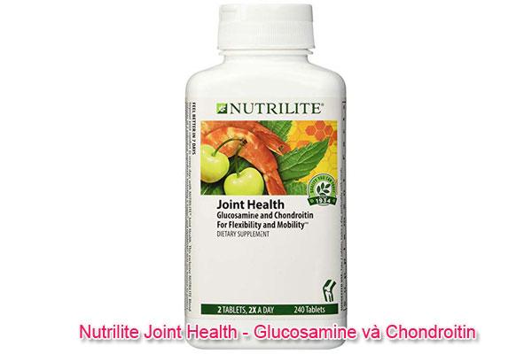 Thực phẩm chức năng glucosamine Nutrilite Joint Health - Glucosamine và Chondroitin