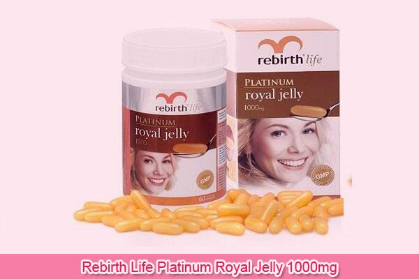 Rebirth Life Platinum Royal Jelly 1000mg