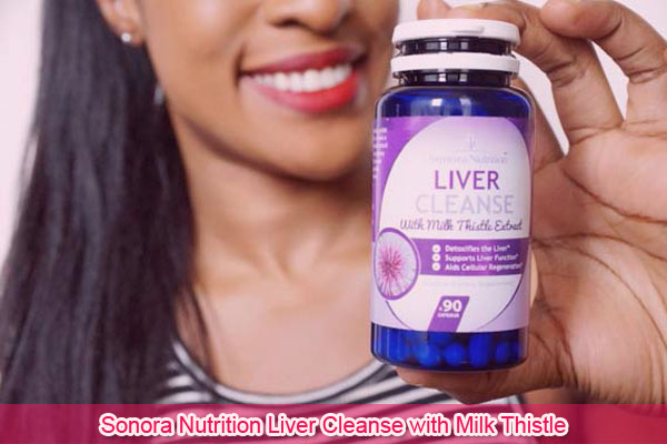 Sonora Nutrition Liver Cleanse with Milk Thistle