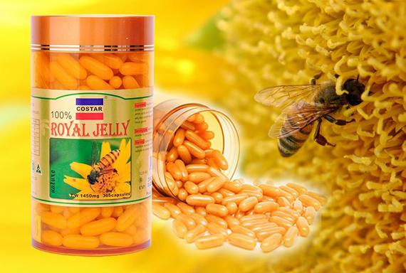 Sữa ong chúa royall jelly 1450mg