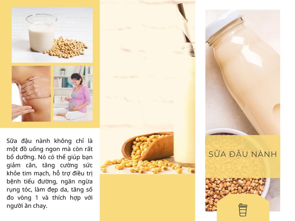 Tác dụng của sữa đậu nành với sức khỏe