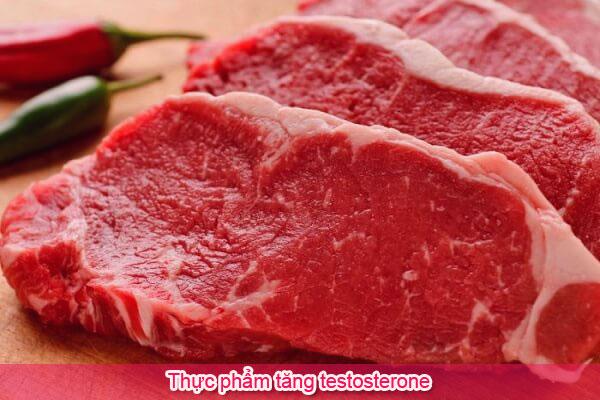 Thực phẩm tăng testosterone