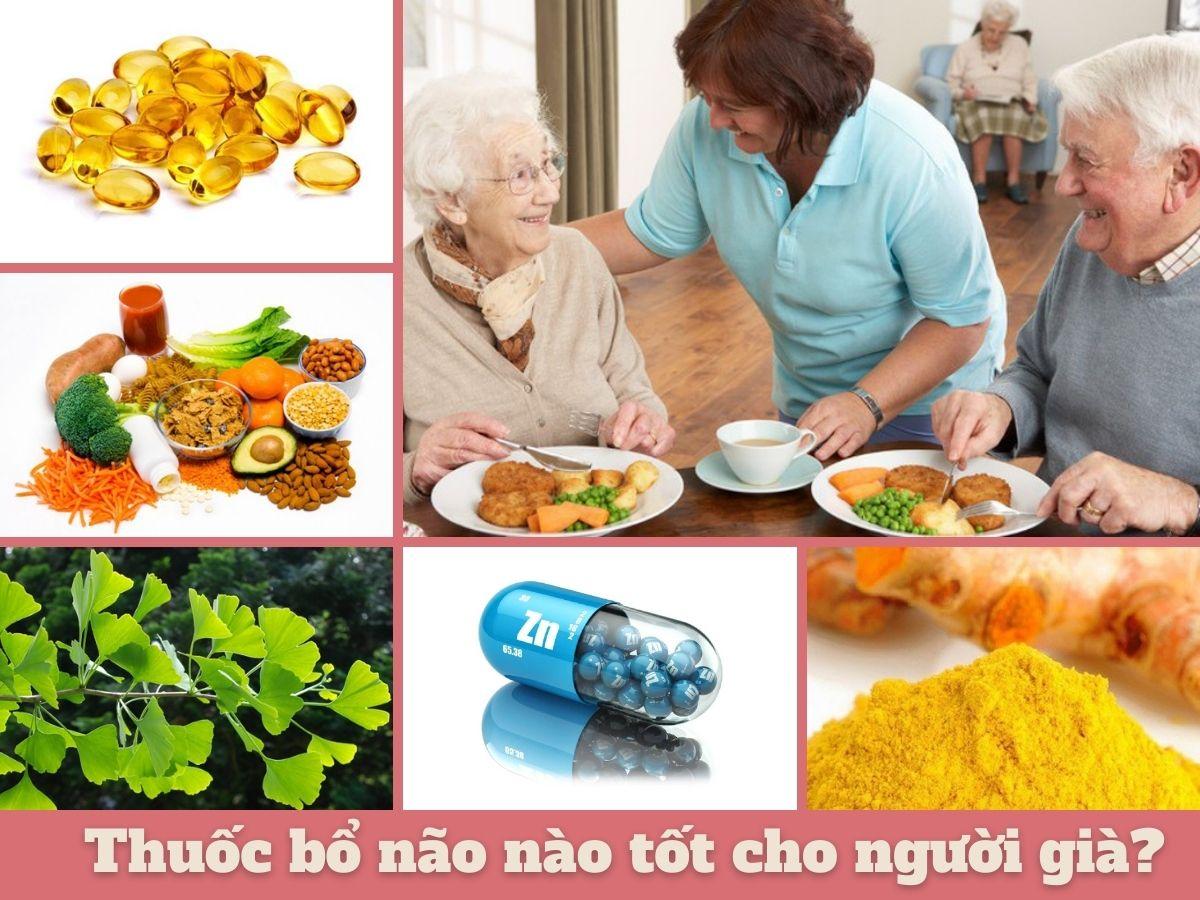 Thuốc bổ não nào tốt cho người già?