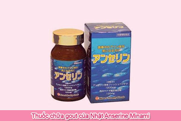 Thuốc chữa gout của Nhật Anserine Minami