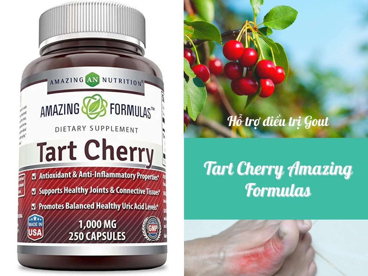 Thuốc trị bệnh gout Tart Cherry Amazing Formulas
