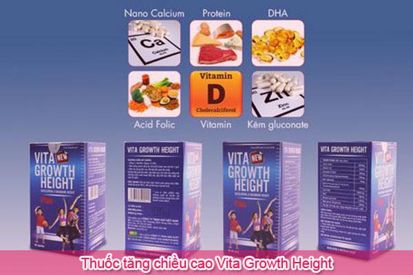 Thuốc tăng chiều cao Vita Growth Height