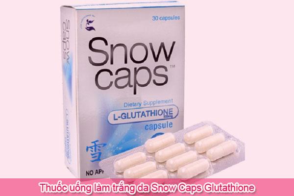 Thuốc uống làm trắng da Snow Caps Glutathione