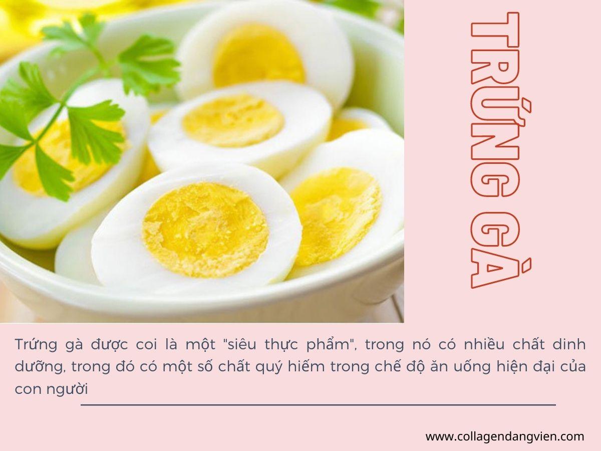 Trứng gà có tác dụng gì với sức khỏe?