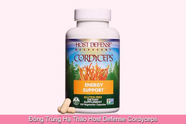 Đông Trùng Hạ Thảo Host Defense Cordyceps