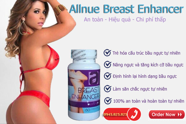 Viên nở ngực Allnue Breast Enhander
