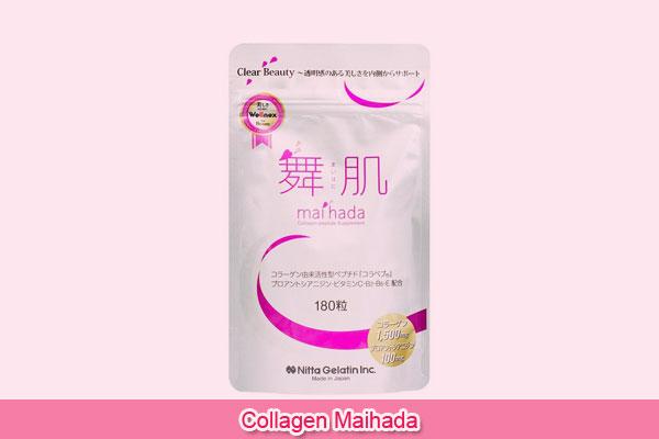 Viên uống Collagen Maihada Nhật Bản