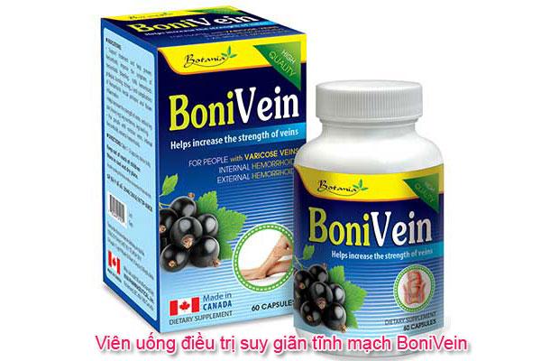 Viên uống điều trị suy giãn tĩnh mạch BoniVein