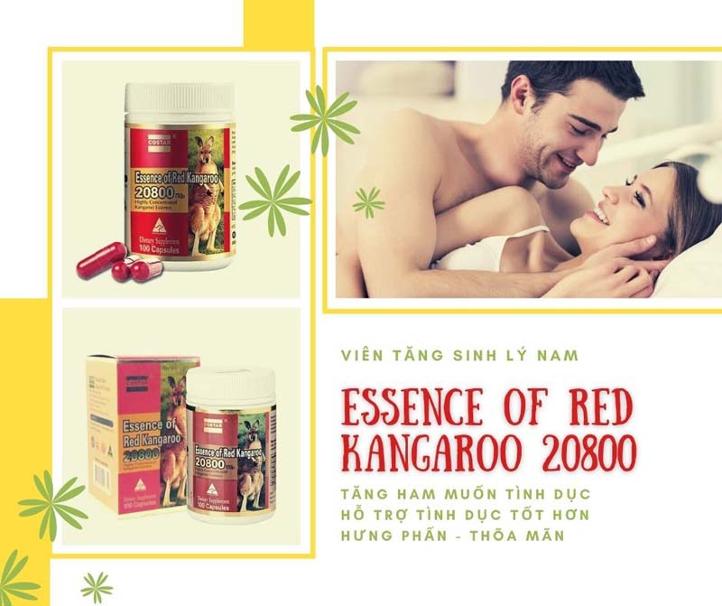 Viên uống Essence of Red Kangaroo 20800