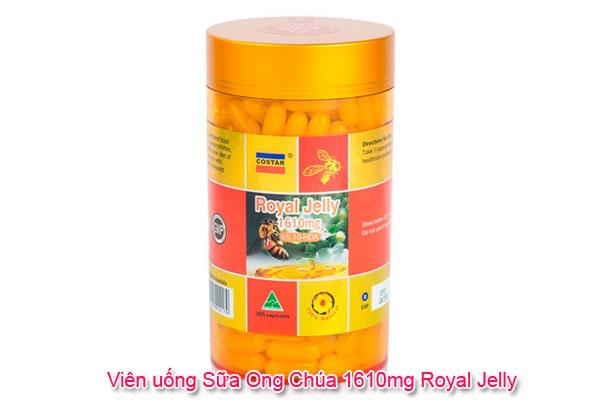 Viên uống Sữa Ong Chúa 1610mg Royal Jelly
