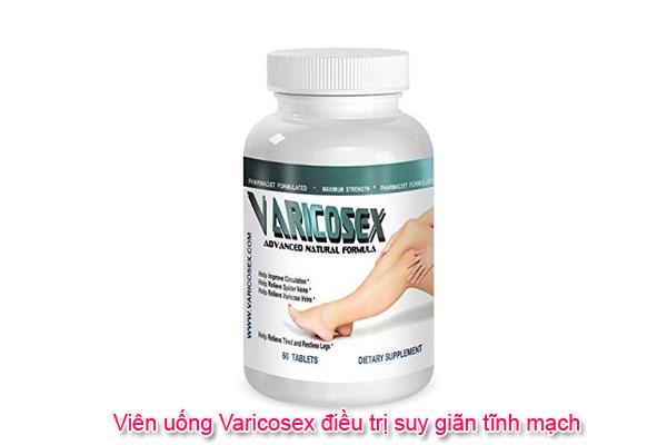 Viên uống Varicosex điều trị suy giãn tĩnh mạch