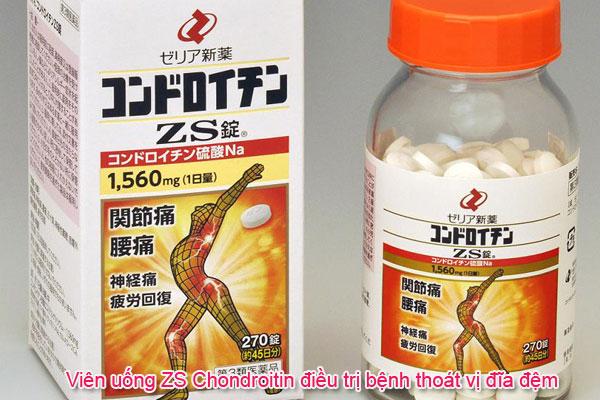 Viên uống ZS Chondroitin điều trị bệnh thoát vị đĩa đệm