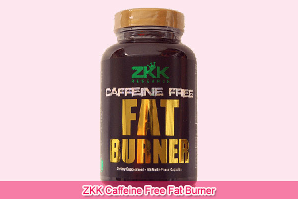 ZKK Caffeine Free Fat Burner
